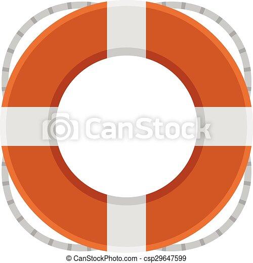 Float of rescue - csp29647599