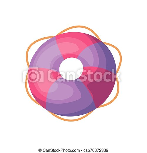 float protection summer isolated icon - csp70872339