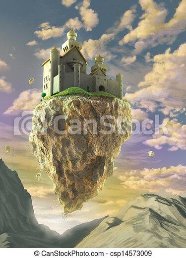 Big Rock Fantasy Art