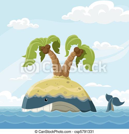 Floating island - csp5791331