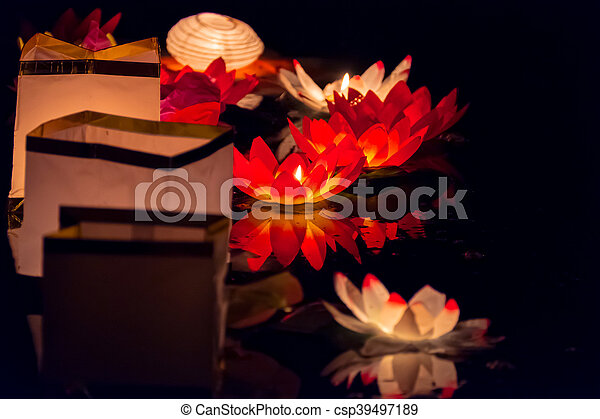 DIY Paper Lotus Lanterns for Buddha's Birthday | Family Holiday ... | 320x450