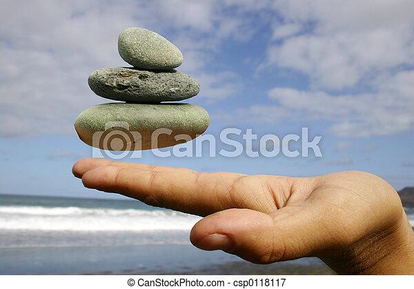 Floating Pebbles - csp0118117