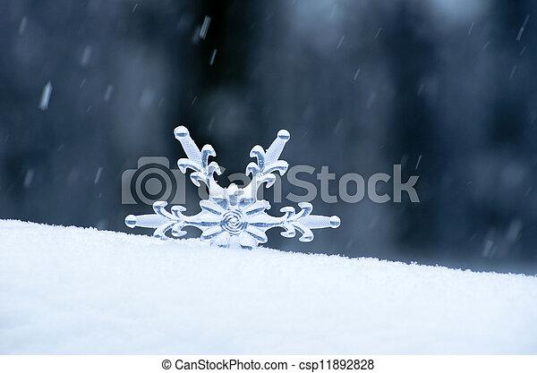 flocon de neige - csp11892828