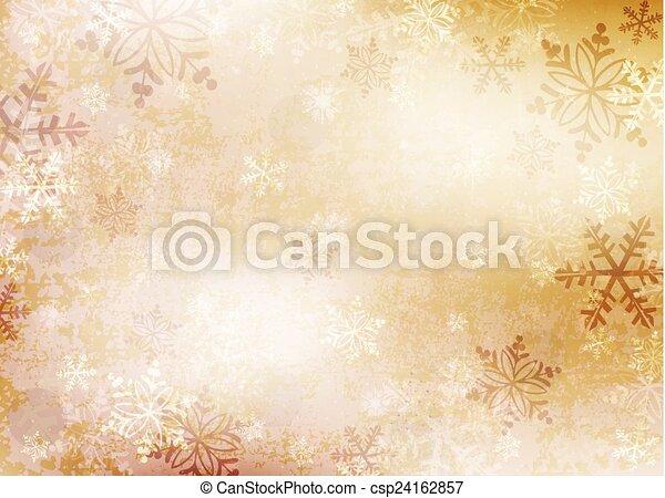 flocons neige, fond - csp24162857