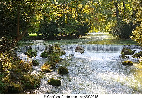 flod, parkera - csp2330315