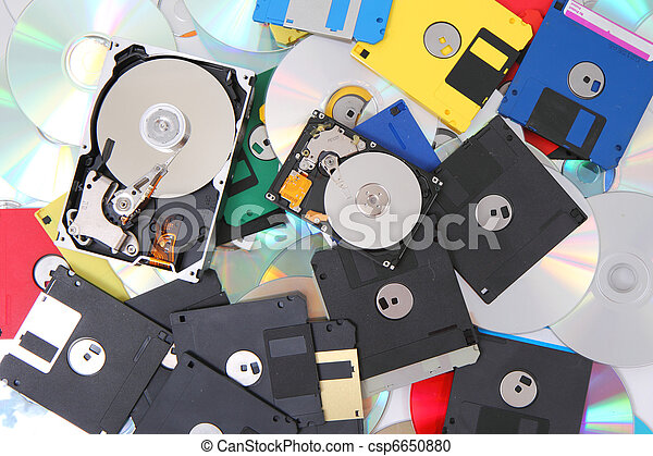 Disco duro, disco flexible y cd-rom - csp6650880