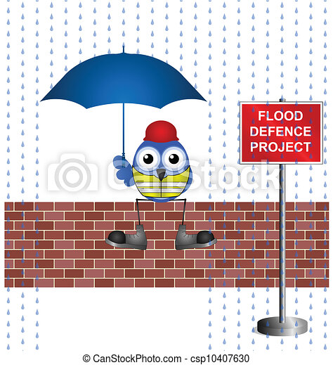 flood defence project - csp10407630