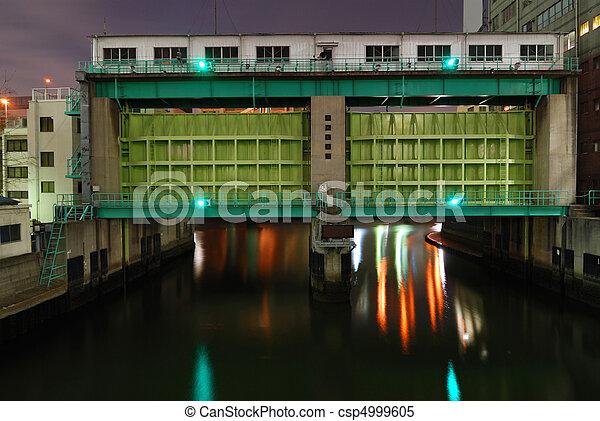 flood gate - csp4999605