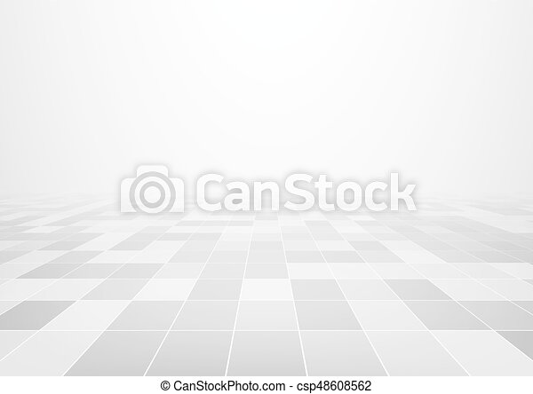 Line Art Floors : Vector design of floor tile background with grid line and clip