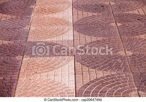 Floor Tiles Texture Footpath