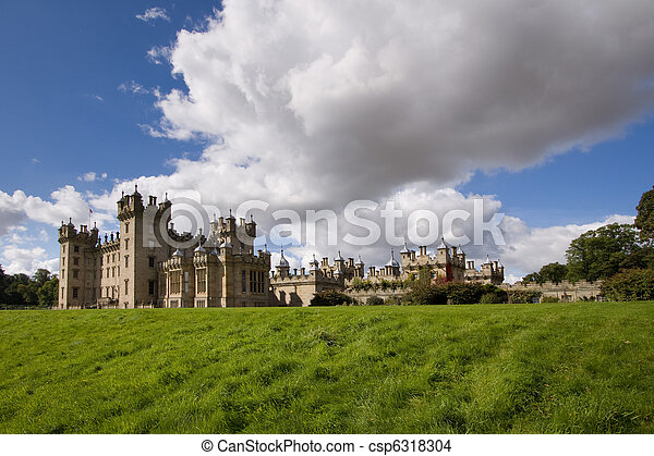 Floors Castle, Kelso - csp6318304