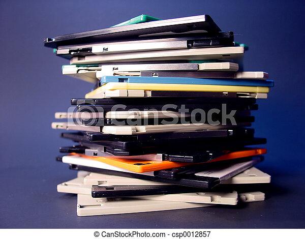 Floppy Disks - csp0012857