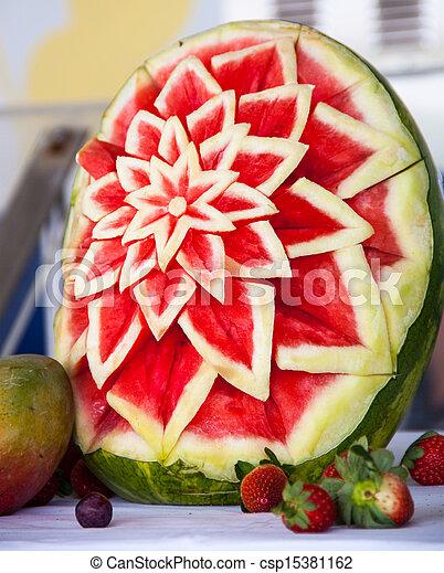 Conhecido Bagas, flor, melancia, frutas estoque de imagem - Faça Busca em  AA17