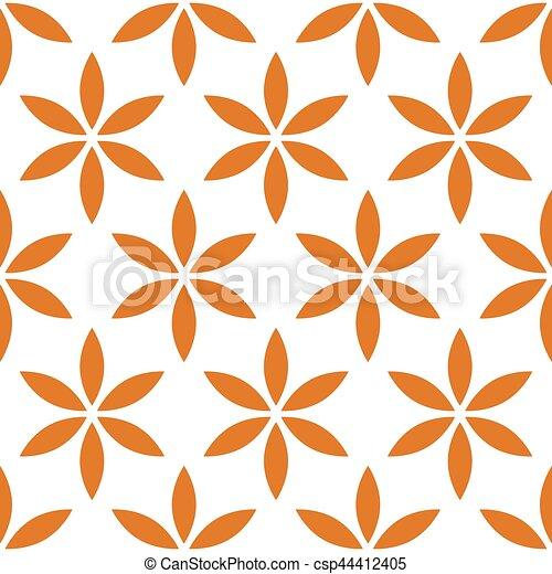 Patrón sin costura con simple floral, motivo floral - csp44412405