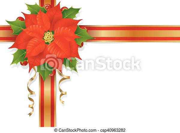 Flor de Navidad - csp40963282