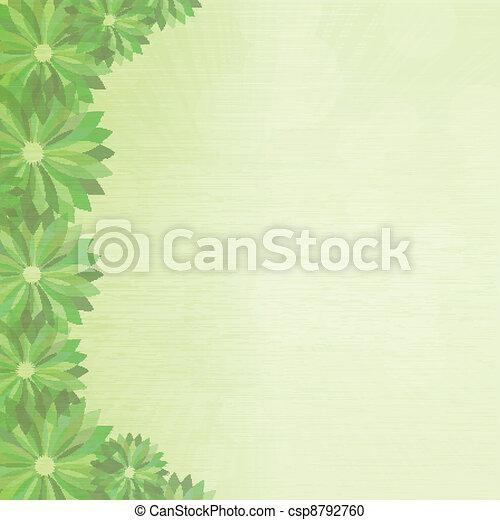 Antecedentes florales - csp8792760