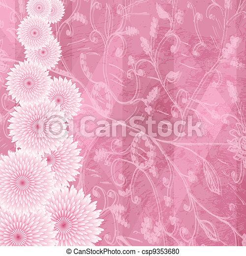 Antecedentes florales - csp9353680