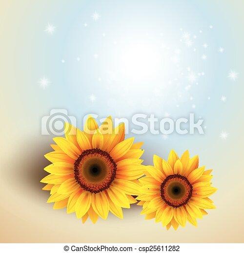flor, plano de fondo - csp25611282