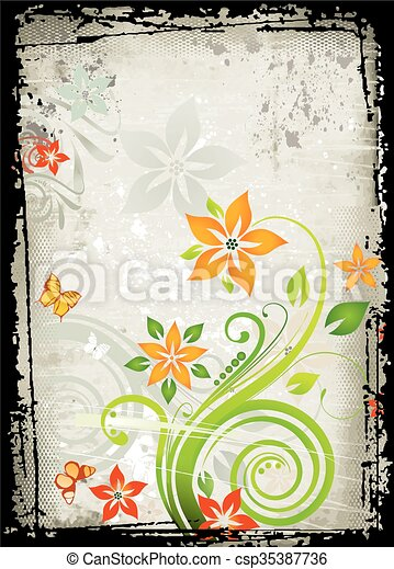 Antecedentes florales - csp35387736