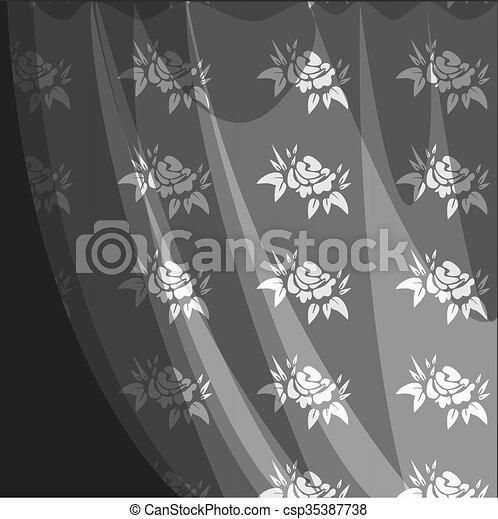 Antecedentes florales - csp35387738