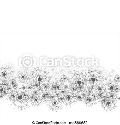 Antecedentes florales - csp5880853