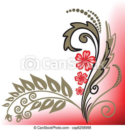 Flor roja - csp6258998