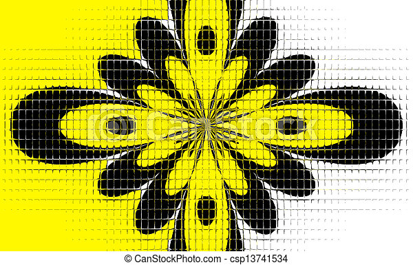 Floral Abstract - csp13741534