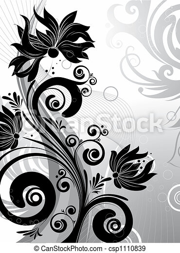 Floral abstraction - csp1110839