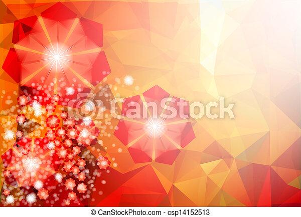floral, abstratos - csp14152513