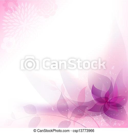 floral, abstratos, fundo - csp13773966