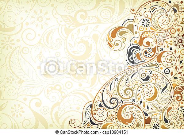 floral, abstratos - csp10904151