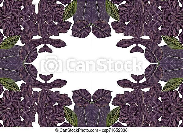 floral, achtergrond - csp71652338