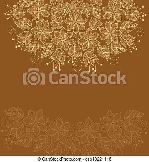 floral, achtergrond - csp10221118