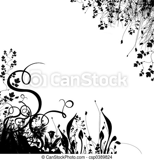 Floral Background #2 - csp0389824