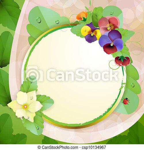 Floral background - csp10134967