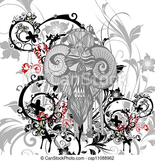 Floral Background - csp11088962
