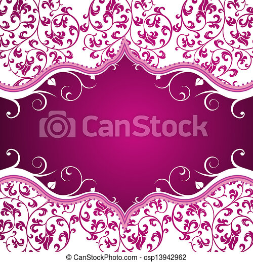 floral background - csp13942962