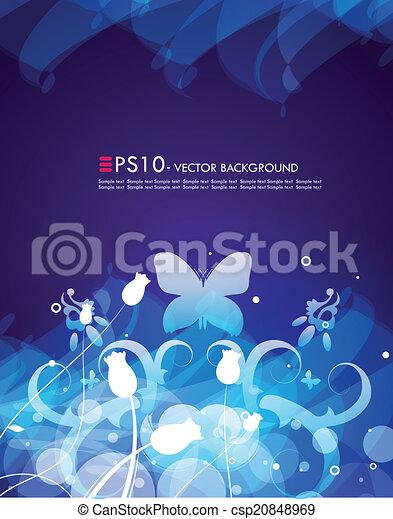 Floral Background   Csp20848969