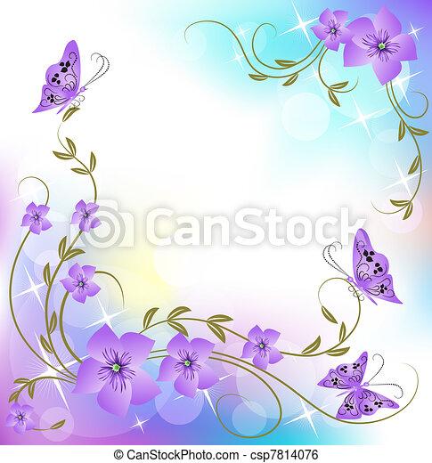 Floral background - csp7814076