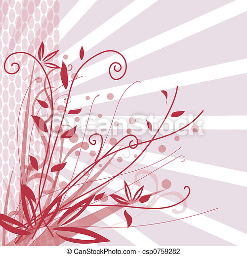 Floral background - csp0759282
