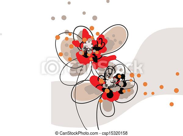 floral background - csp15320158