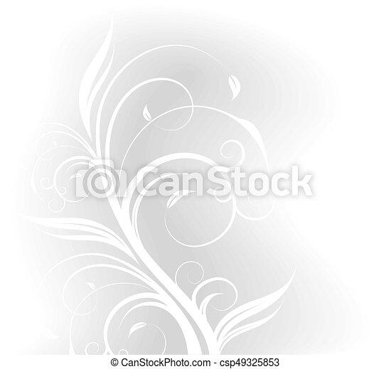Floral background - csp49325853