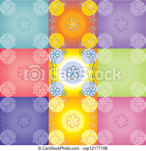 Floral background - csp12177198