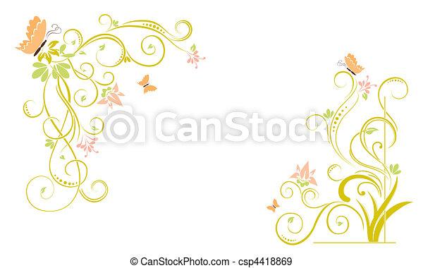 floral background - csp4418869