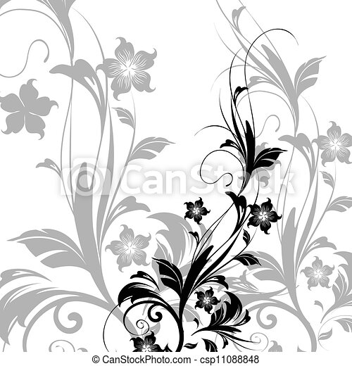 Floral Background - csp11088848