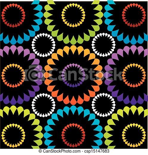 Floral background - csp15147683