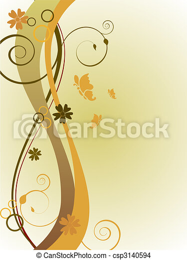 floral background - csp3140594