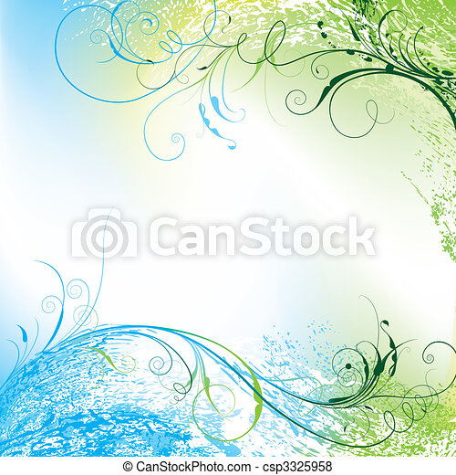 Floral Background - csp3325958