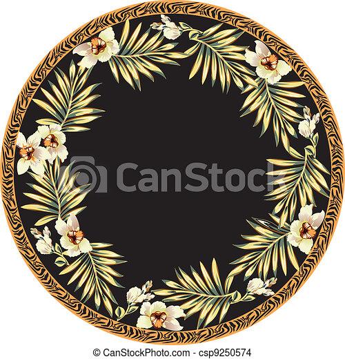 Floral background - csp9250574