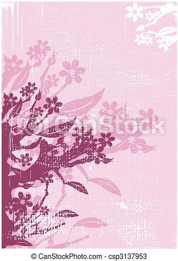 Floral background - csp3137953